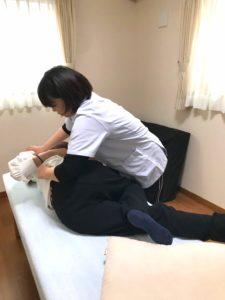 腰椎矯正の画像