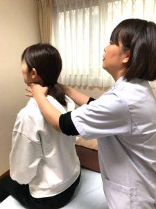 頸椎矯正の画像